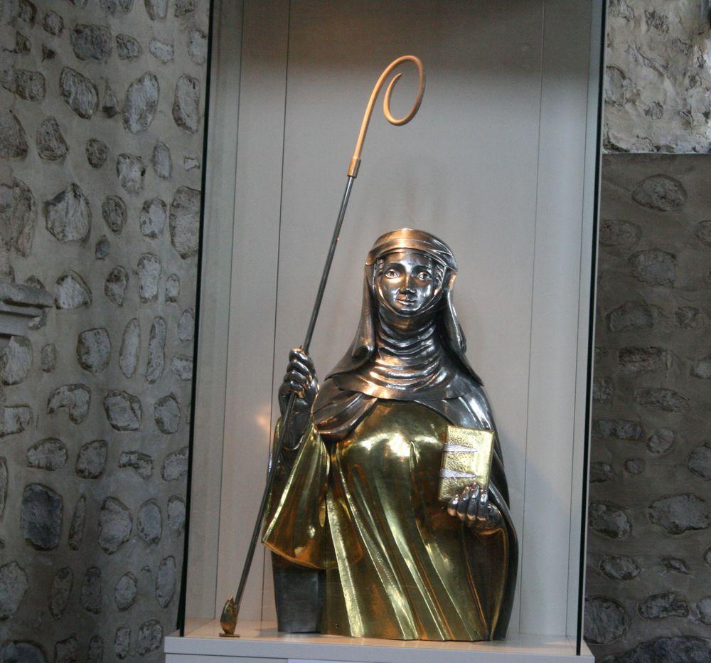 Le Chef De Sainte Gertrude